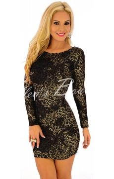 Vestido Bodycon  Leopard